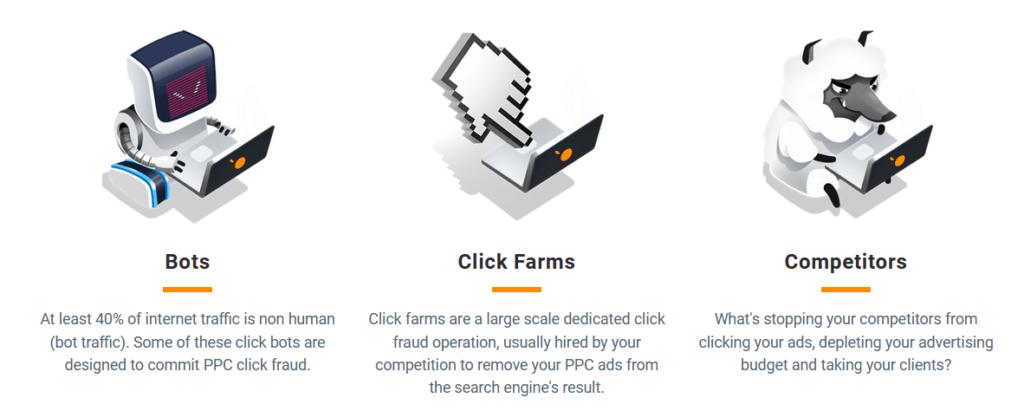 clickcease tipi di click fraudolenti